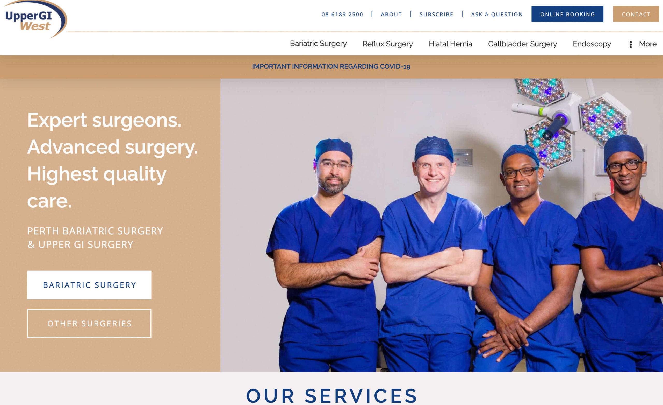Upper GI West   Bariatric Surgery